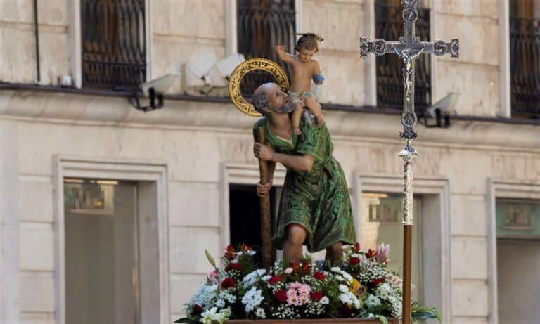 San Cristóbal patrón de los conductores