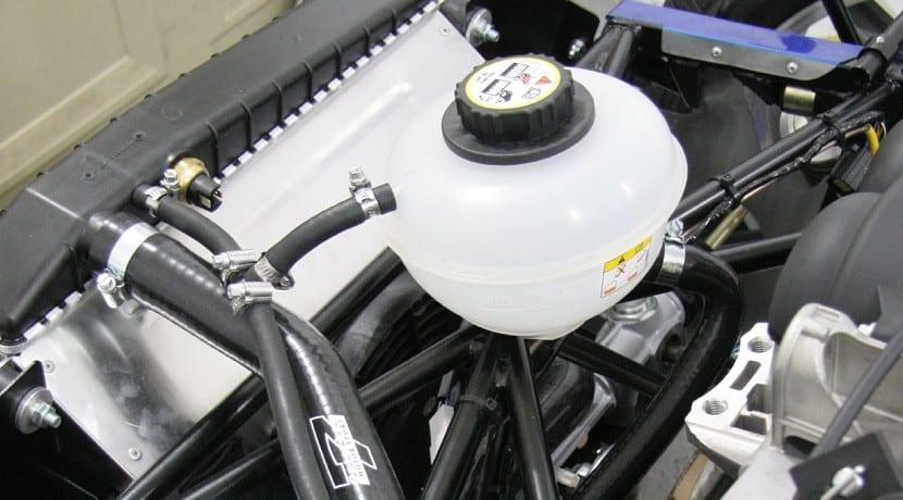 Pérdida de líquido por el tanque de expansión