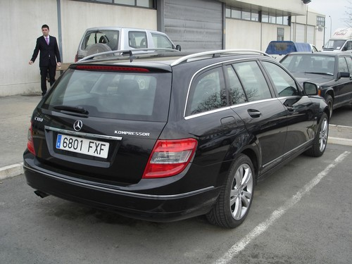 Trasera Mercedes C