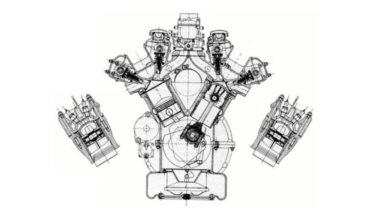 Diámetro y carrera de un cilindro