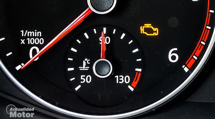 El reloj de temperatura es un indicador vital en la conducción