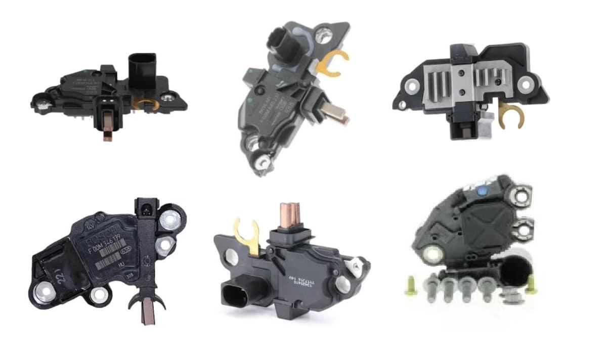 Reguladores alternador del coche