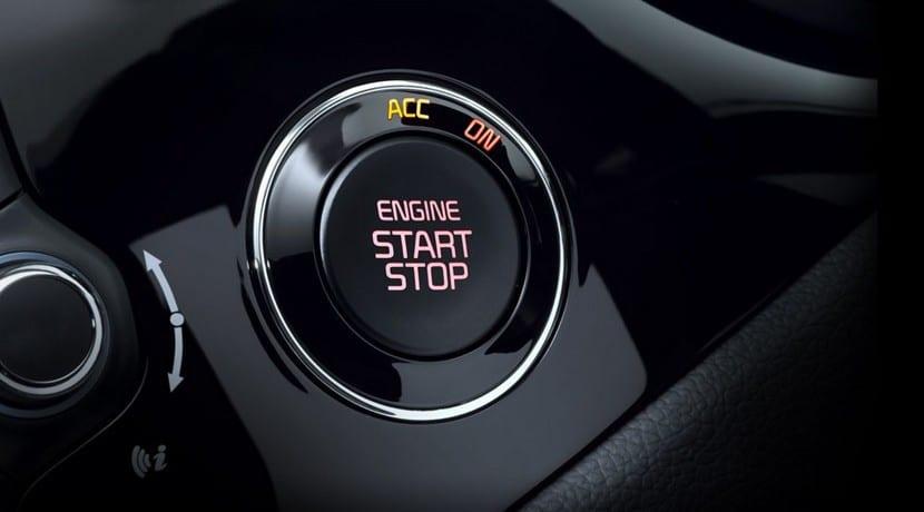 El problema del sistema de encendido podría estar en la llave de contacto o botón de arranque