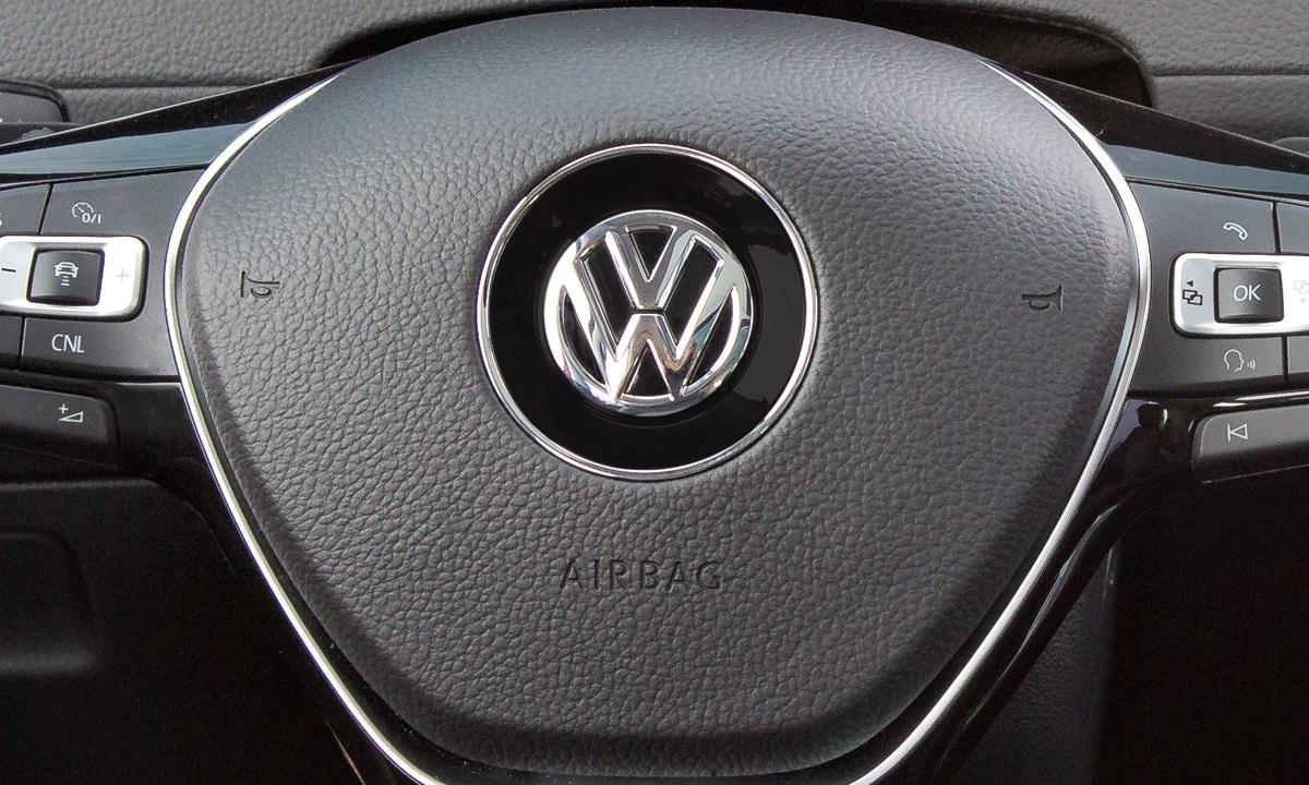 Botón de la bocina de coche