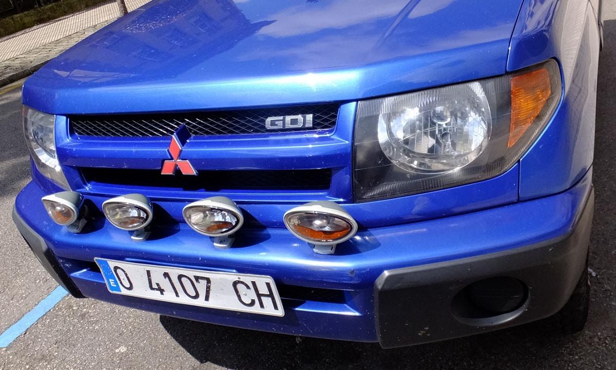 Mitsubishi GDI todoterreno