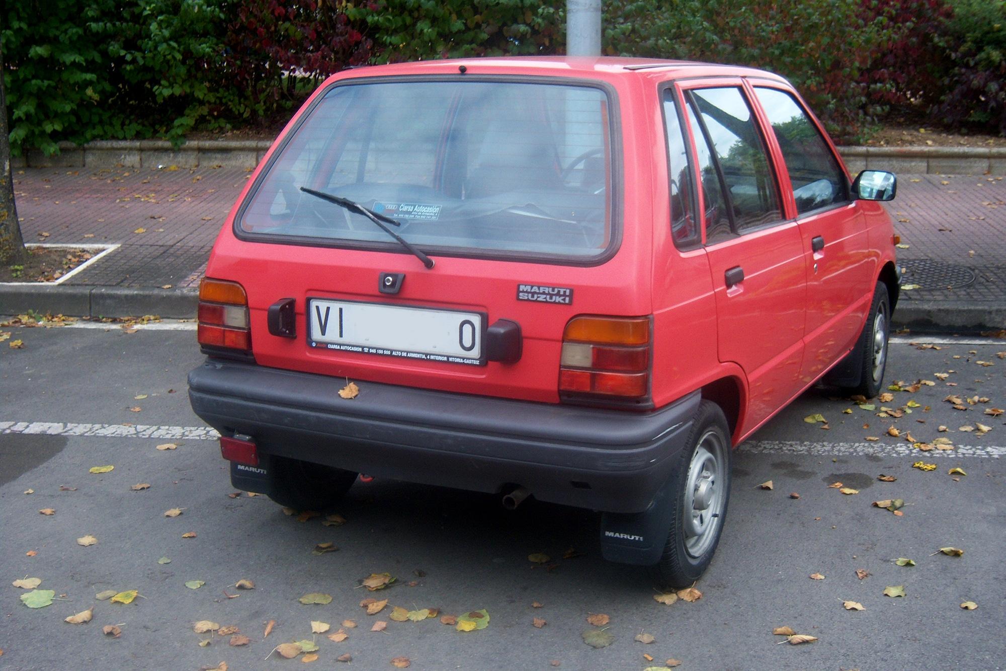 U00bfte Acuerdas  Suzuki Maruti 800