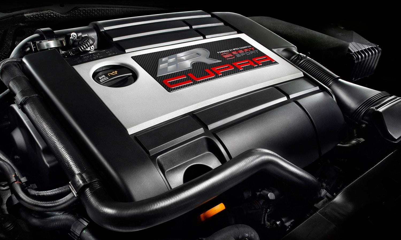 Los motores con turbo tienen menor relación de compresión por lo general