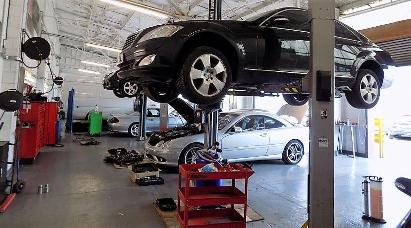 Reparación avería motor