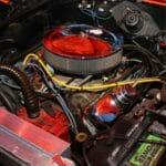 Motor del General Lee batería
