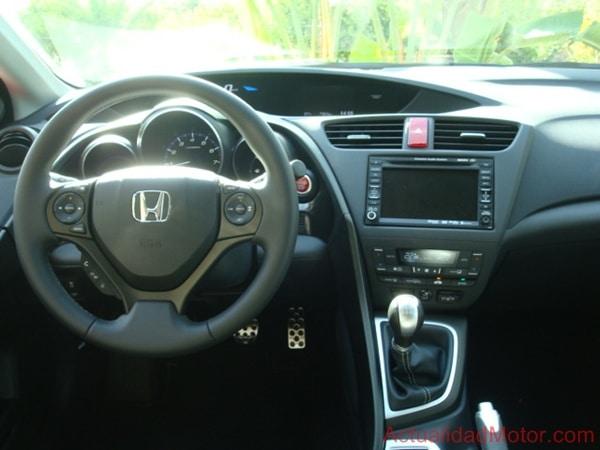 Puesto conducción nuevo Honda Civic