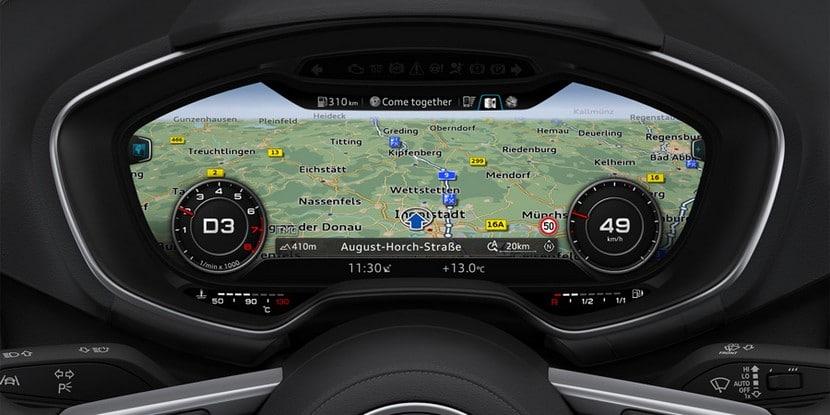 Algunos indicadores de gasolina son digitales