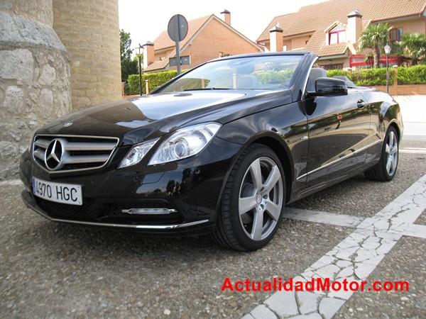 El Mercedes Clase E Cabrio luce así de bonito sin capota
