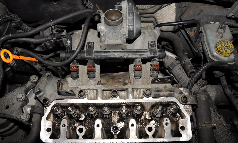 Motor sin culata y sin junta