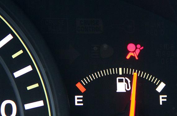 Comprobar luz de airbag