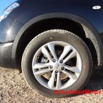 Nissan Qashqai llanta 17 pulgadas