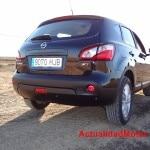 Nissan Qashqai rear view