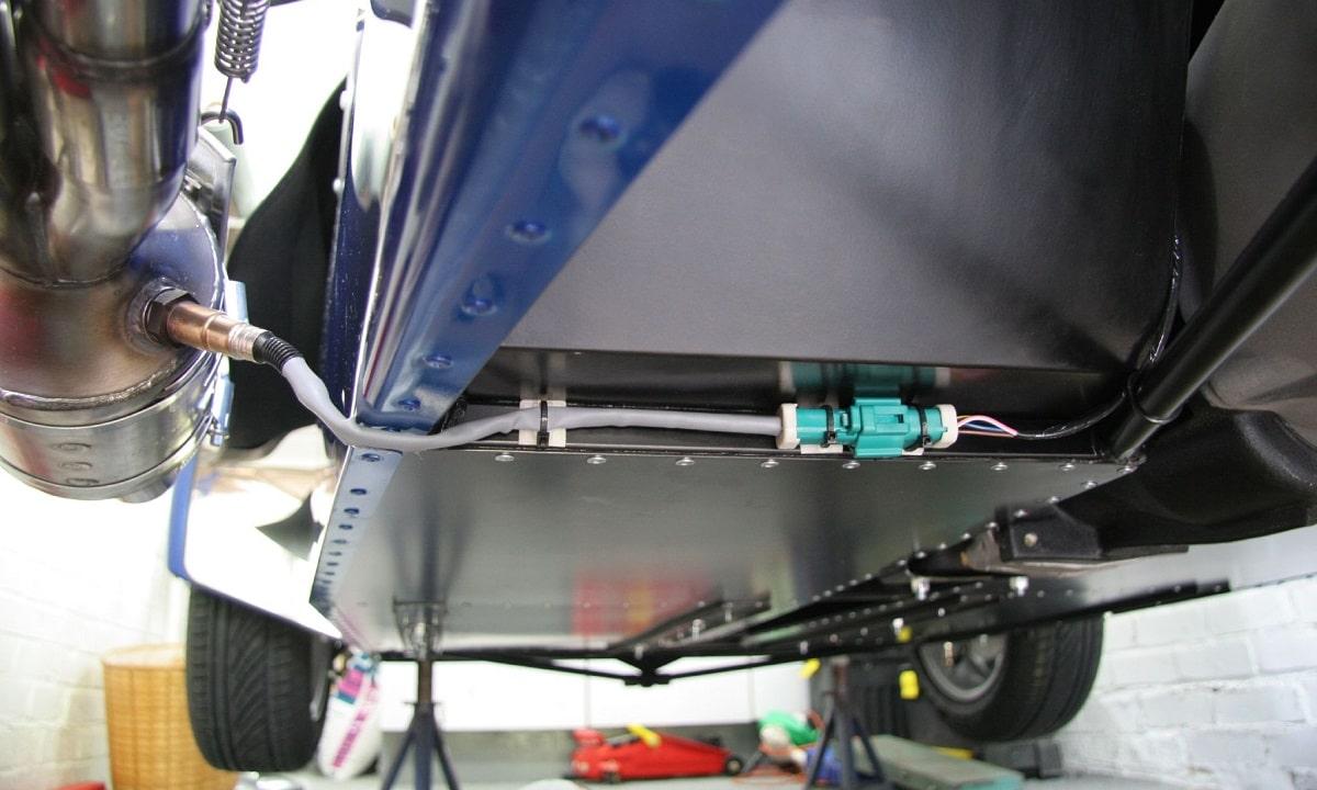 Función de la sonda Lambda y su conector