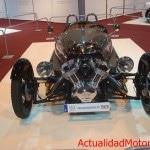 Preciosa vista del motor en V de un Morgan 3
