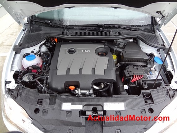 Seat Ibiza 2012 motor common rail