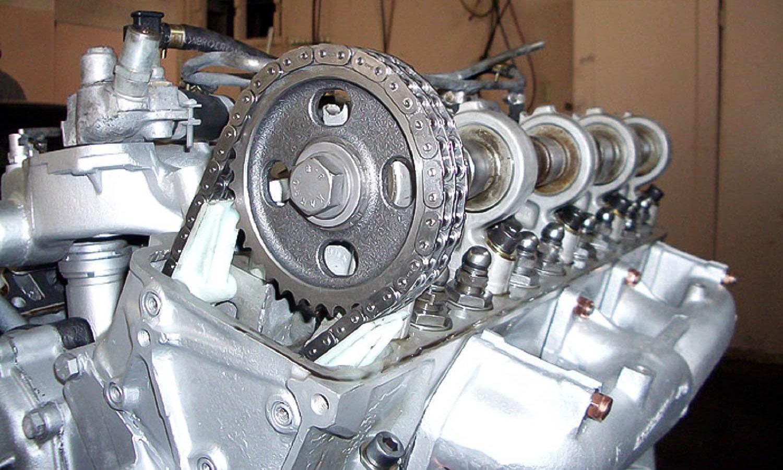 Distribución de un motor