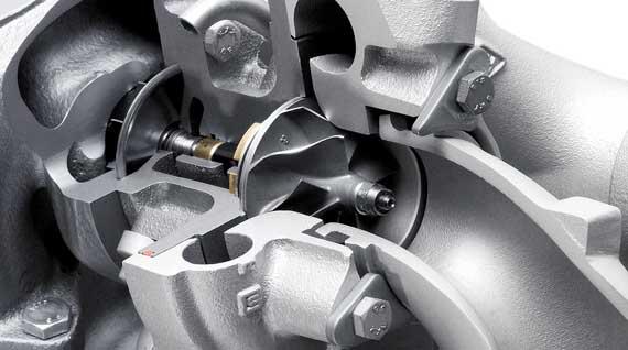 Sección de turbo