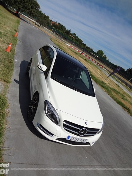 Mercedes Clase B 2012 techo