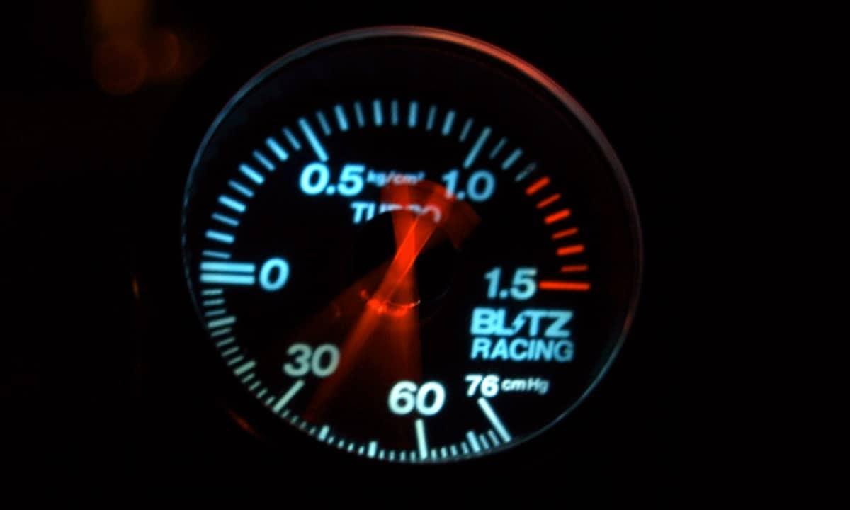 La presión a la que funciona un turbo