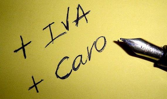 Subida del IVA