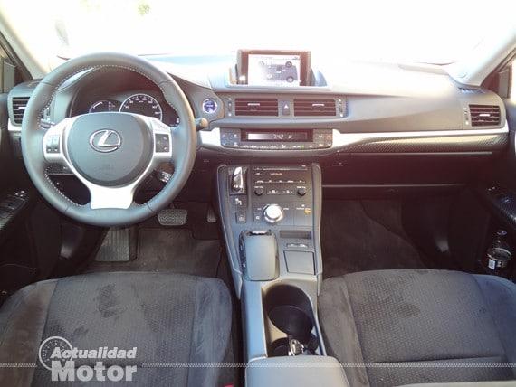 prueba Lexus Ct 200h 2013