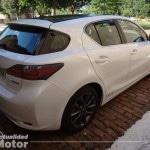 Lexus Ct 200h 2013 parte trasera