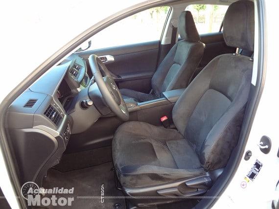 asientos lexus ct 200h