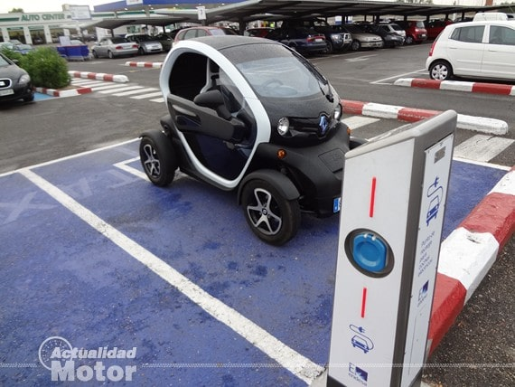 Punto recarga coche electrico