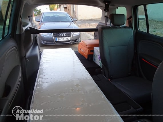 maletero Opel Zafira Tourer 1.4 turbo