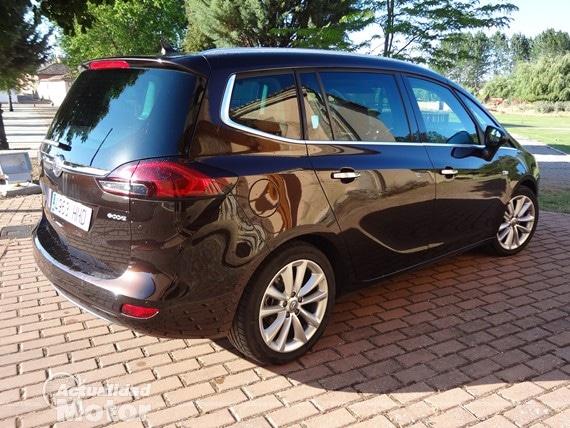 Prueba Opel Zafira Tourer 1.4 turbo