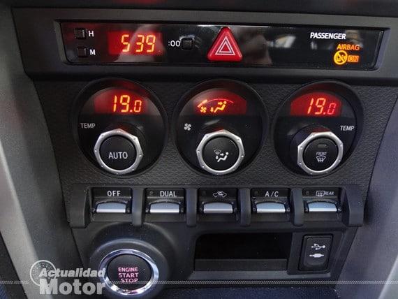 consola central Subaru BRZ Premium