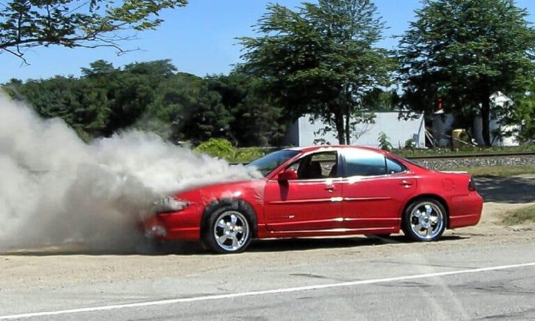 El coche se calienta