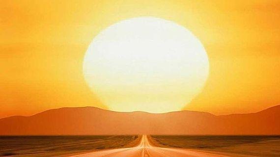 Deslumbramiento del sol