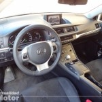 Lexus Ct 200h 2013 salpicadero