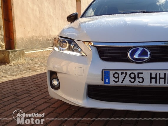 Lexus Ct 200h 2013 luces LED