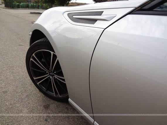 Prueba Subaru BRZ Premium linea lateral
