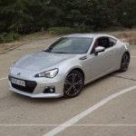 Subaru BRZ drifting