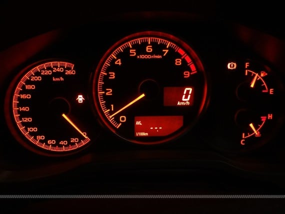 Prueba Subaru BRZ Premium salpicadero