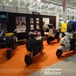 Motos electricas Salon vehiculo y combustible valladolid 2012