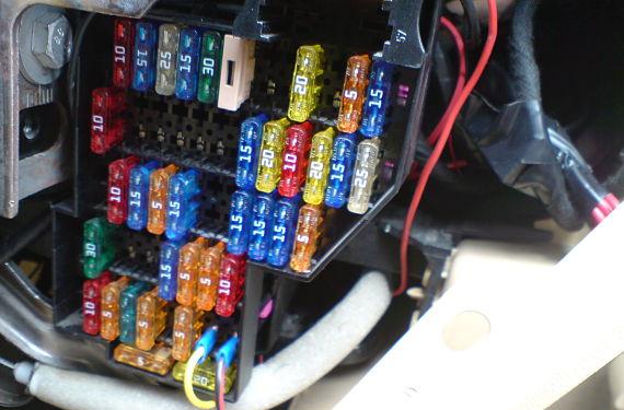 Caja de fusibles