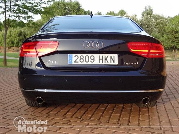 Audi A8 Hybrid vista trasera