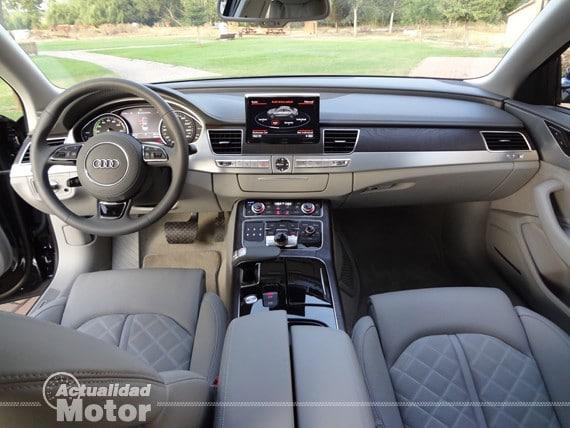 Audi A8 Hybrid acabados interiores