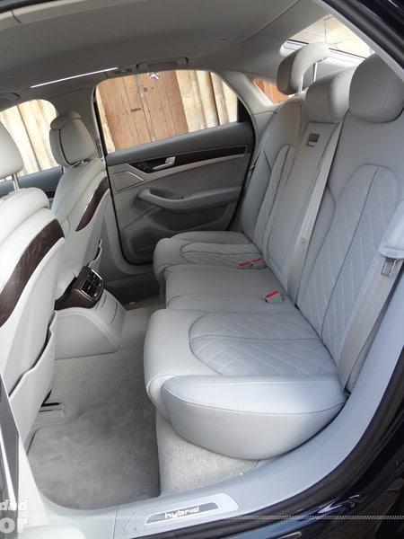 Audi A8 Hybrid asientos traseros