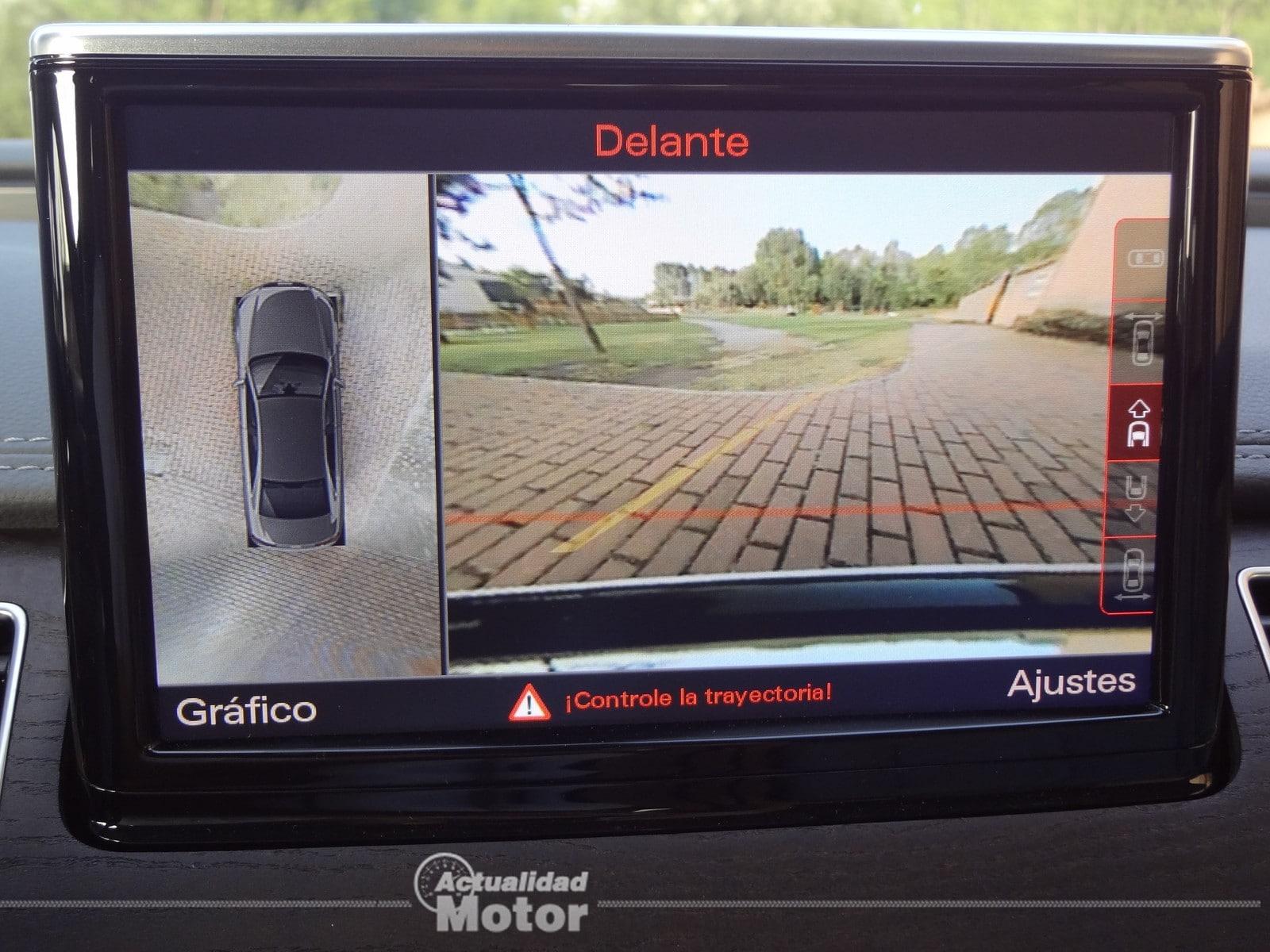 Audi A8 Hybrid pantalla navegador