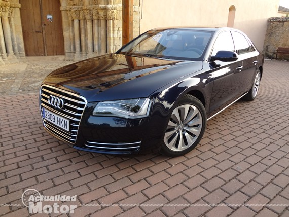Prueba Audi A8 Hybrid