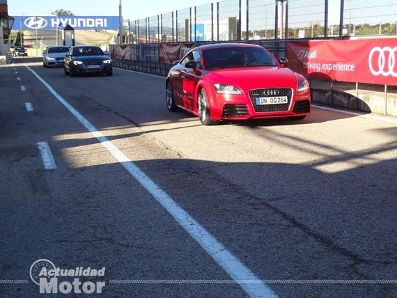 Audi TT-RS Plus boxes jarama